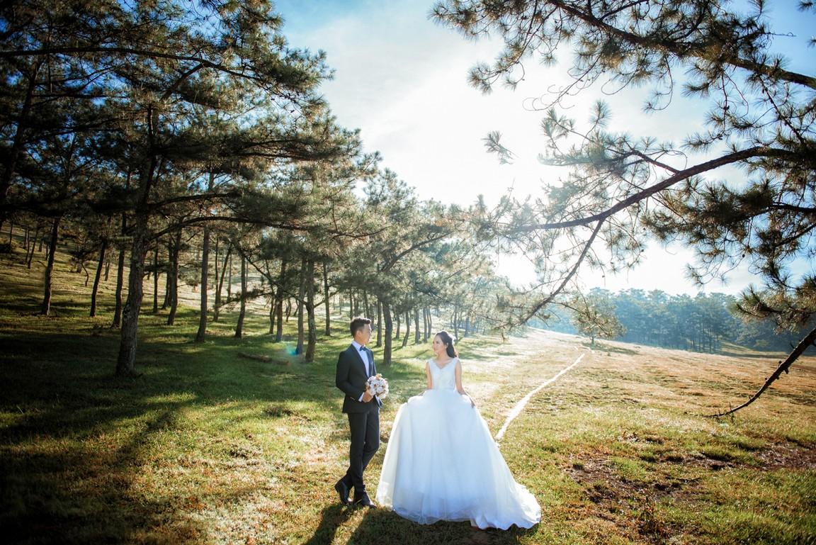 Kết quả hình ảnh cho ảnh cưới ở Đà Lạt