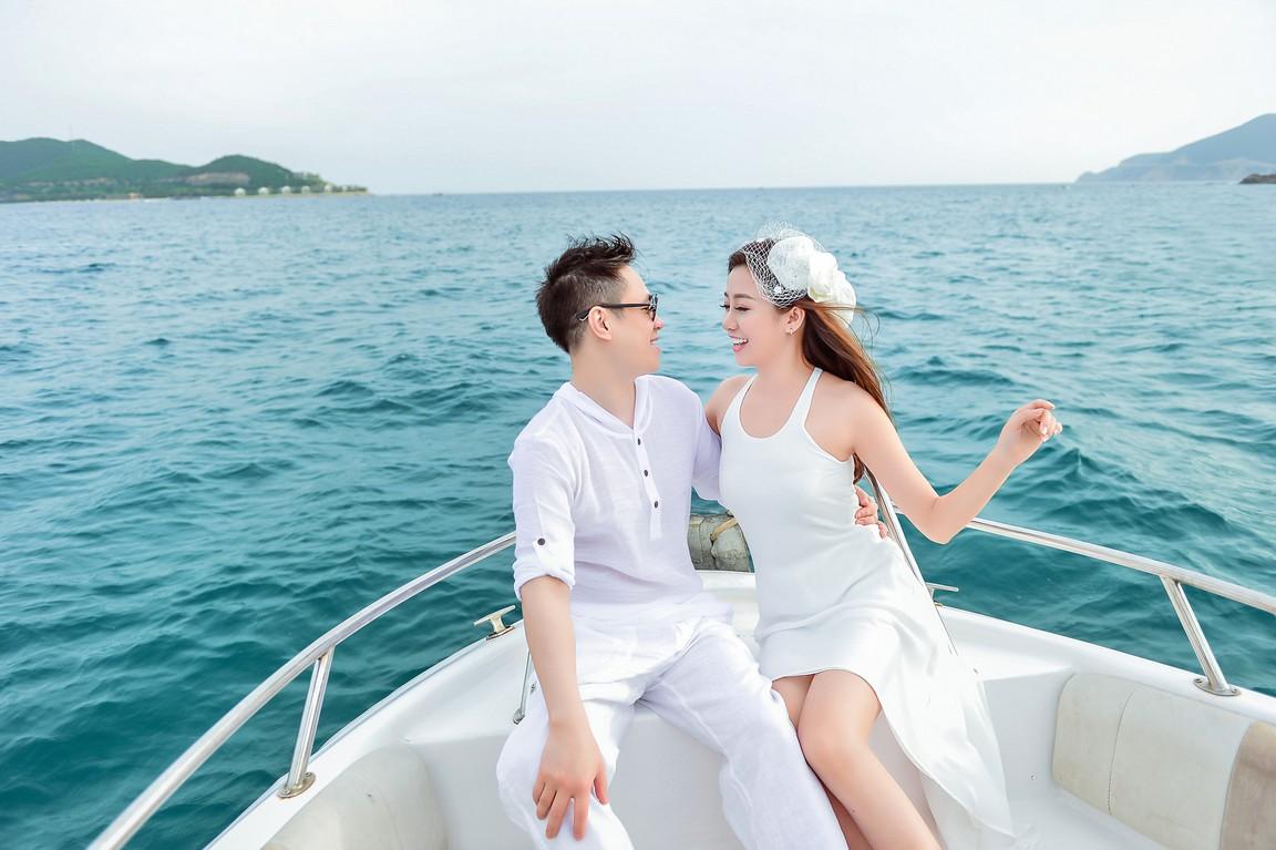 Chụp ảnh cưới ở biển đẹp