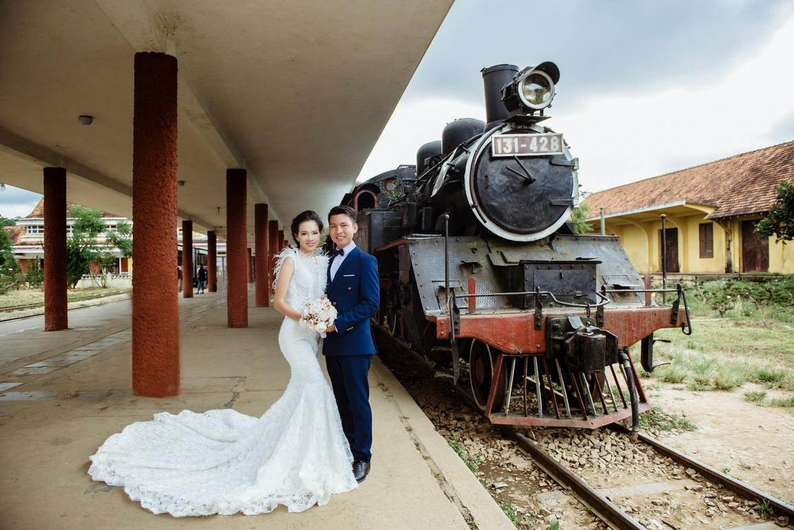 Chụp ảnh cưới phong cách nước ngoài
