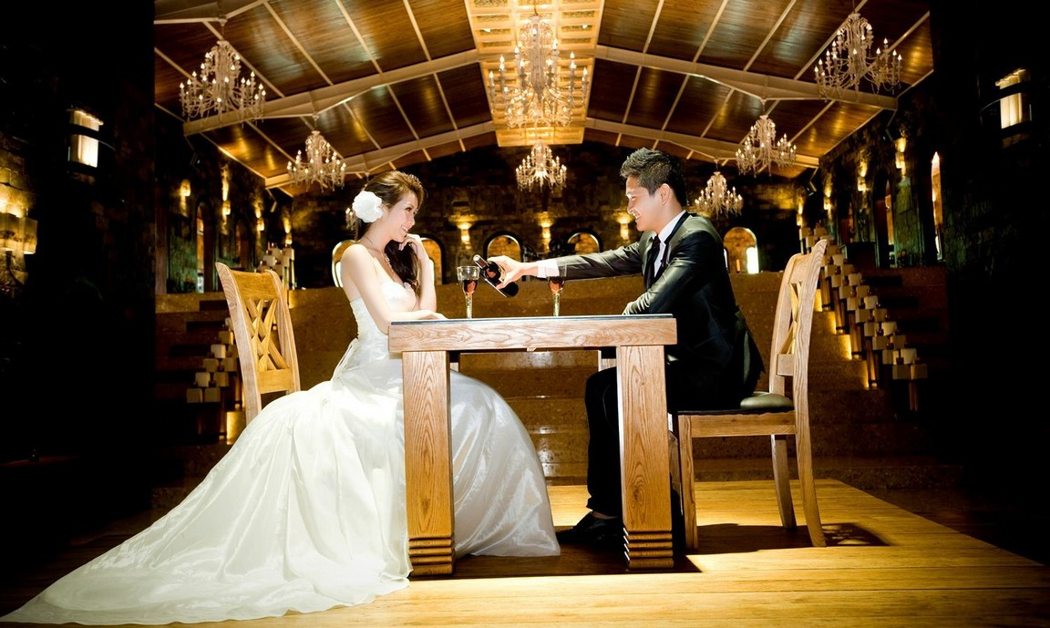 Chụp ảnh cưới phim trường quận 9