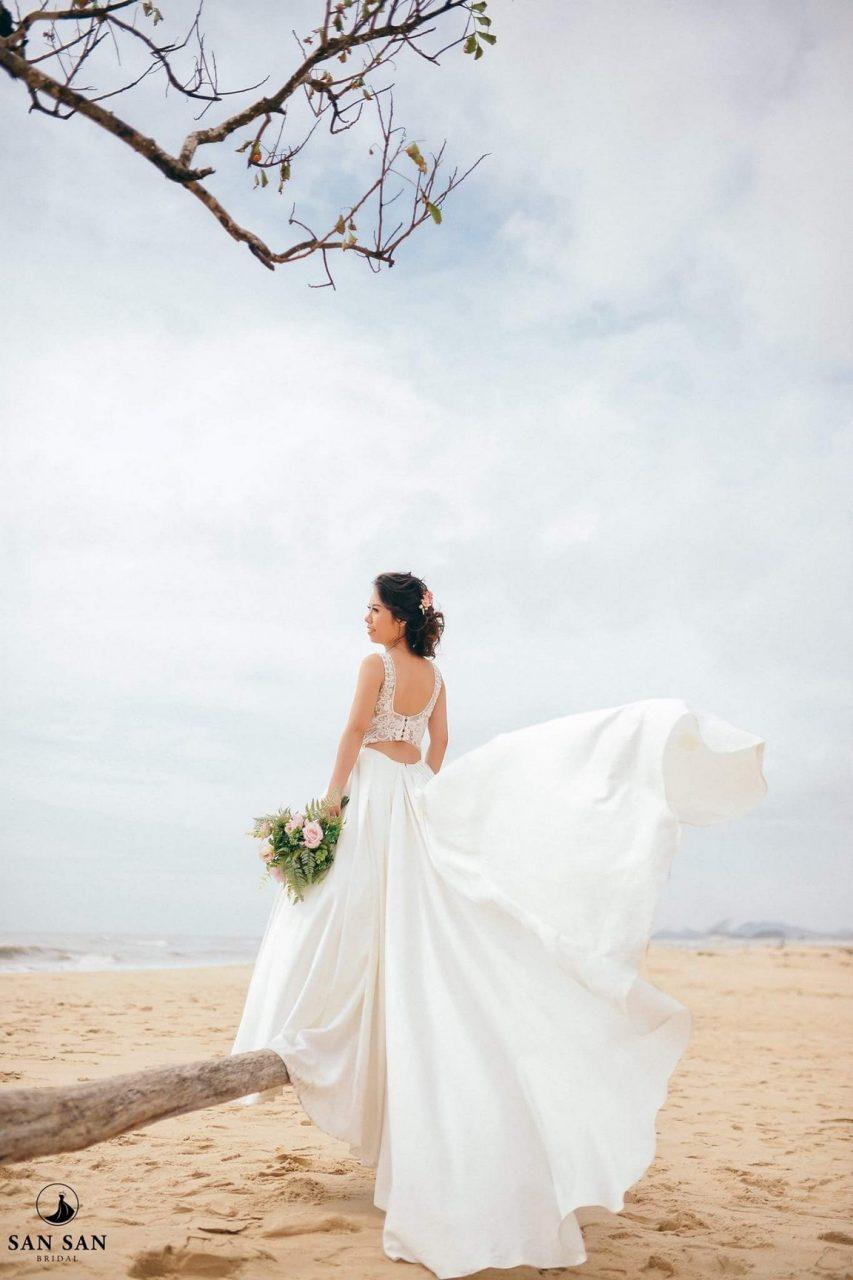 Váy cưới cho người mập