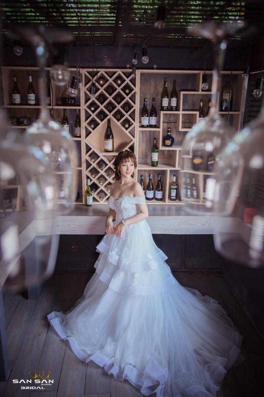 Áo cưới màu trắng đẹp
