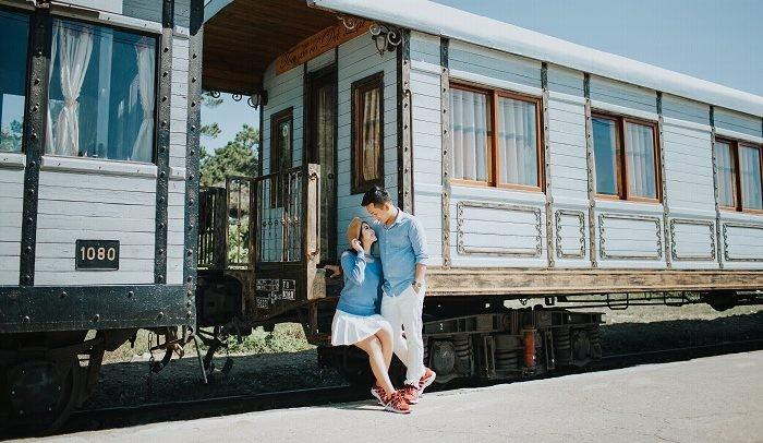 Chụp ảnh cưới ở Ga Nha Trang