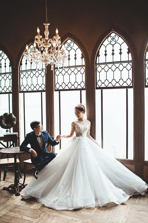 Chụp ảnh cưới phim trường lamour TPHCM