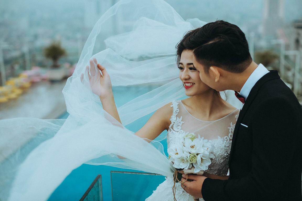 Chụp ảnh cưới phim trường đẹp