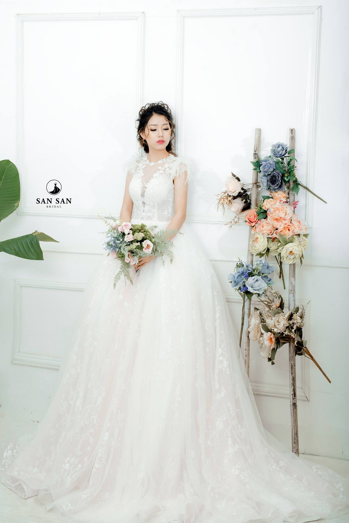 Áo cưới xòe đẹp