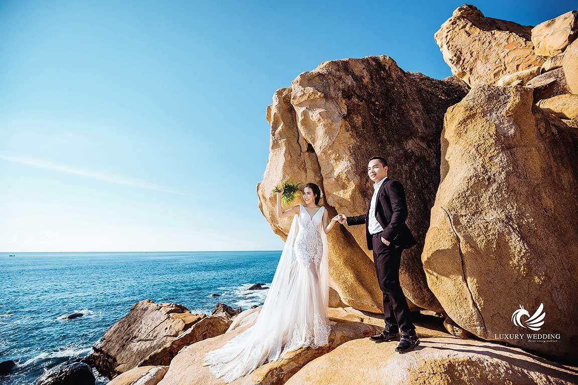 Chụp hình cưới vĩnh hy đẹp