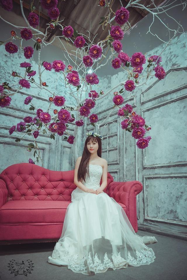 Chụp ảnh nghệ thuật cô dâu đơn 0