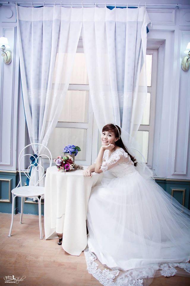 Chụp ảnh nghệ thuật cô dâu đơn 1