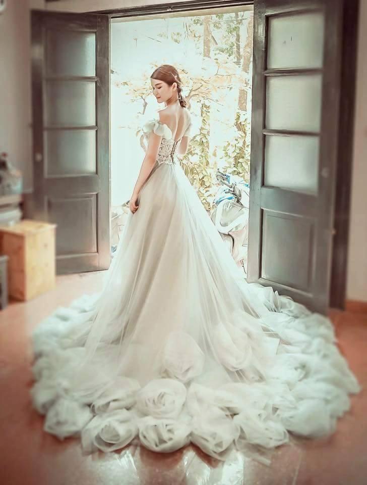 Chụp ảnh nghệ thuật cô dâu đơn 12
