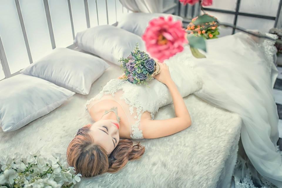 Chụp ảnh nghệ thuật cô dâu đơn 14