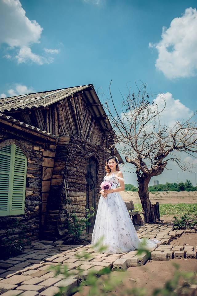 Chụp ảnh nghệ thuật cô dâu đơn 16