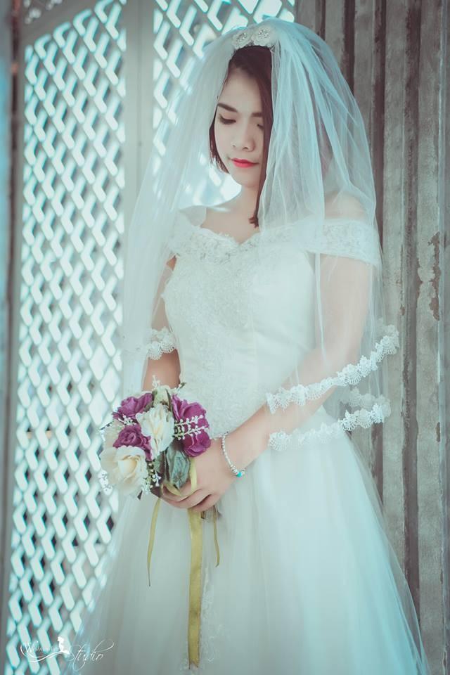 Chụp ảnh nghệ thuật cô dâu đơn 2