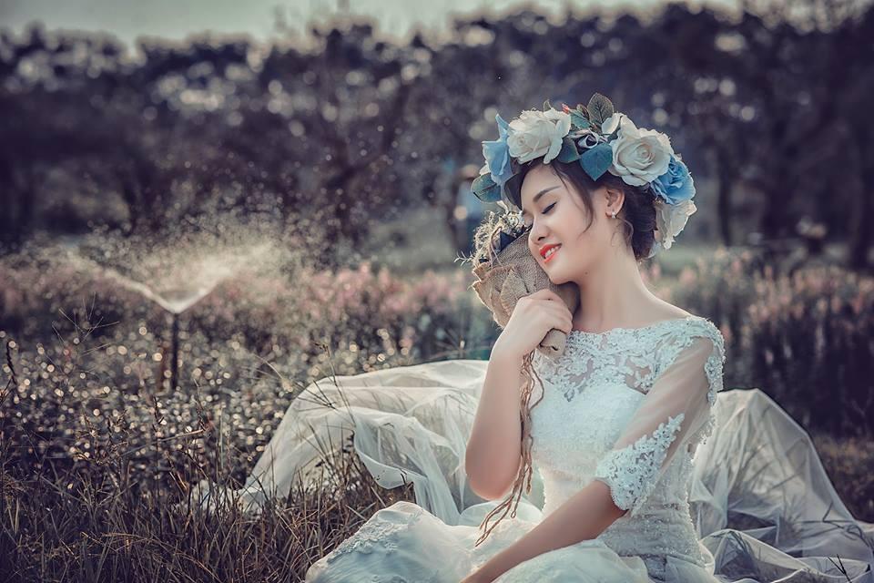 Chụp ảnh nghệ thuật cô dâu đơn 20
