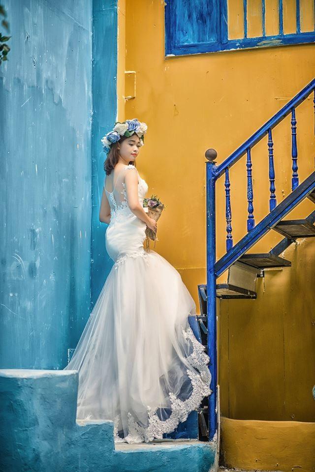 Chụp ảnh nghệ thuật cô dâu đơn 6