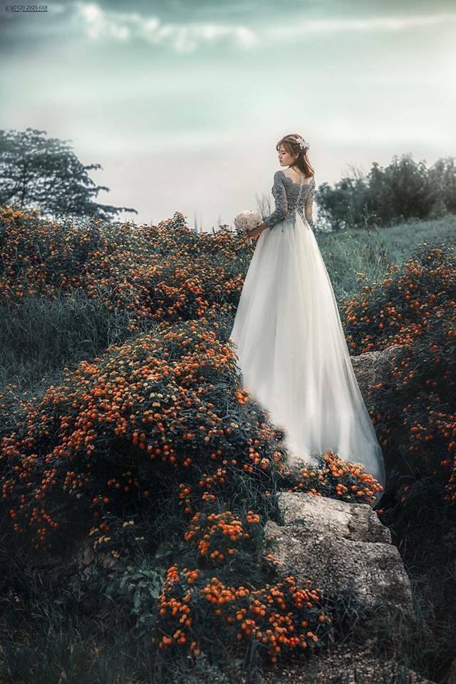 Chụp ảnh nghệ thuật cô dâu đơn 7