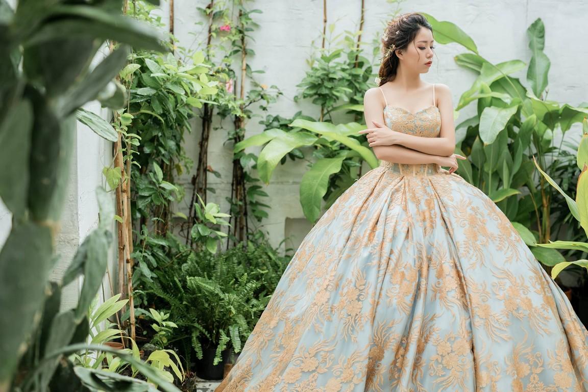 Váy cưới công chúa cho cô dâu