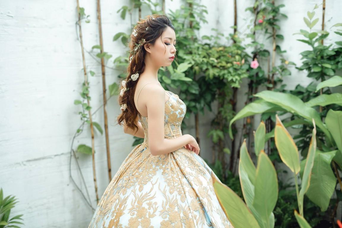 Váy cưới công chúa đẹp lung linh