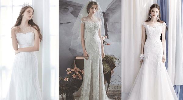 váy cưới lung linh
