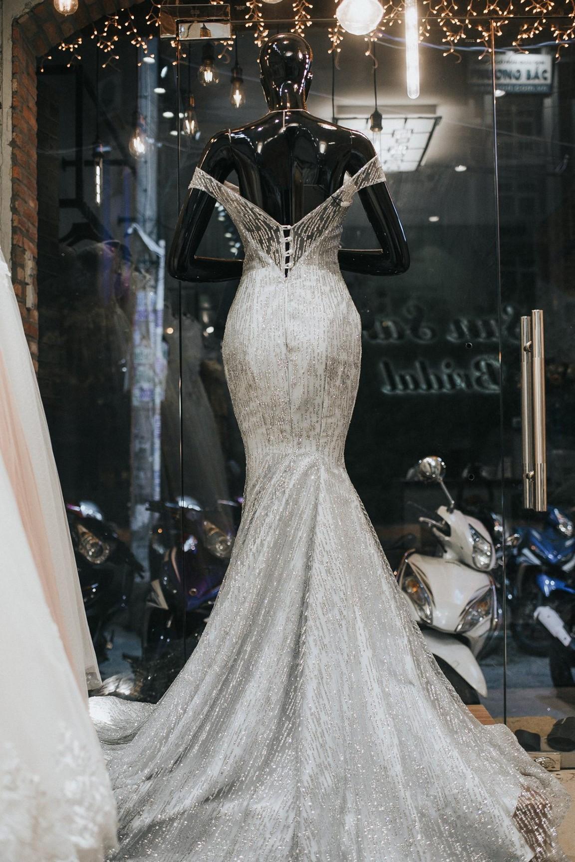 Váy cưới trumpet đẹp