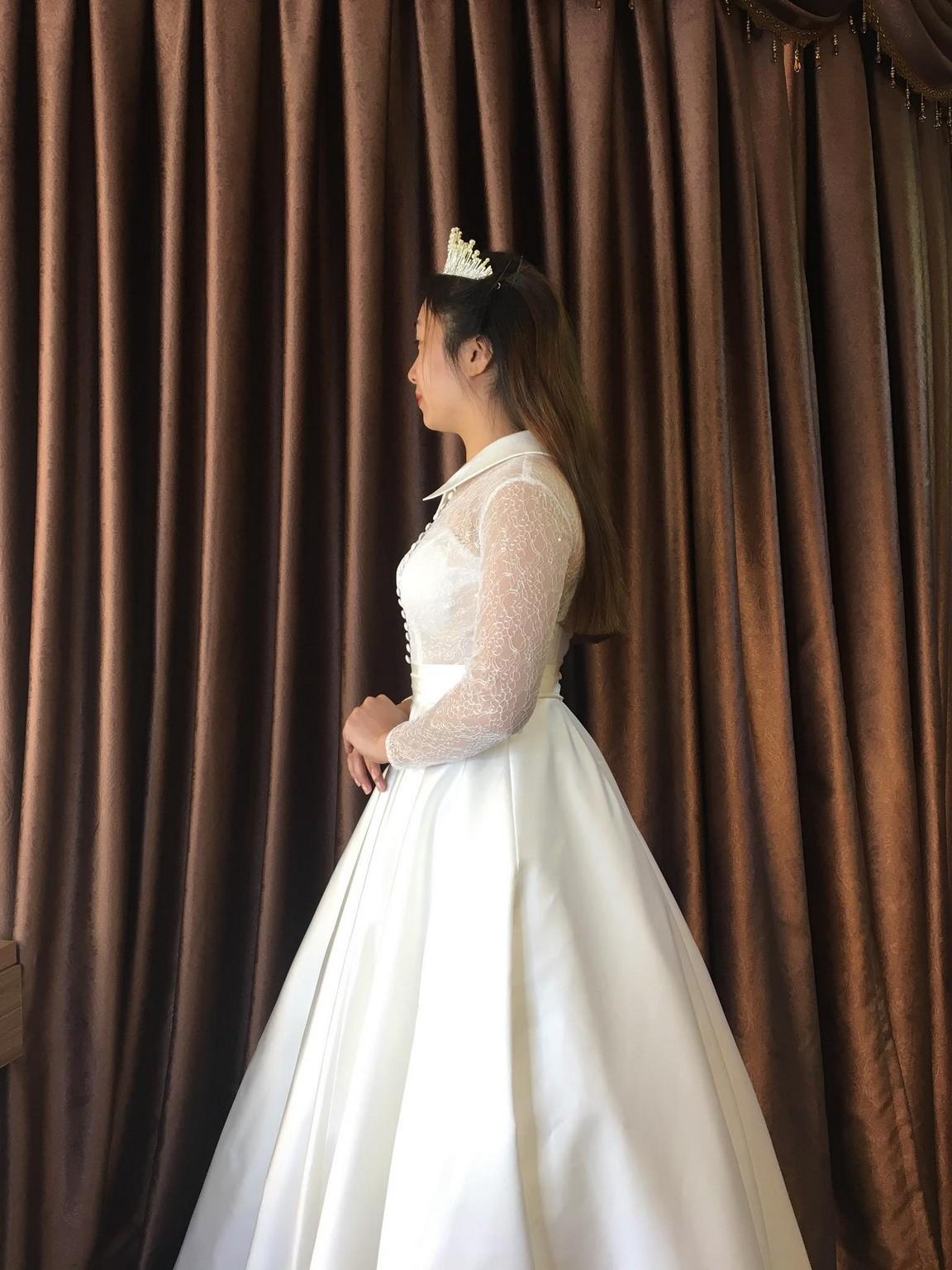 Váy cưới xòe bông 13