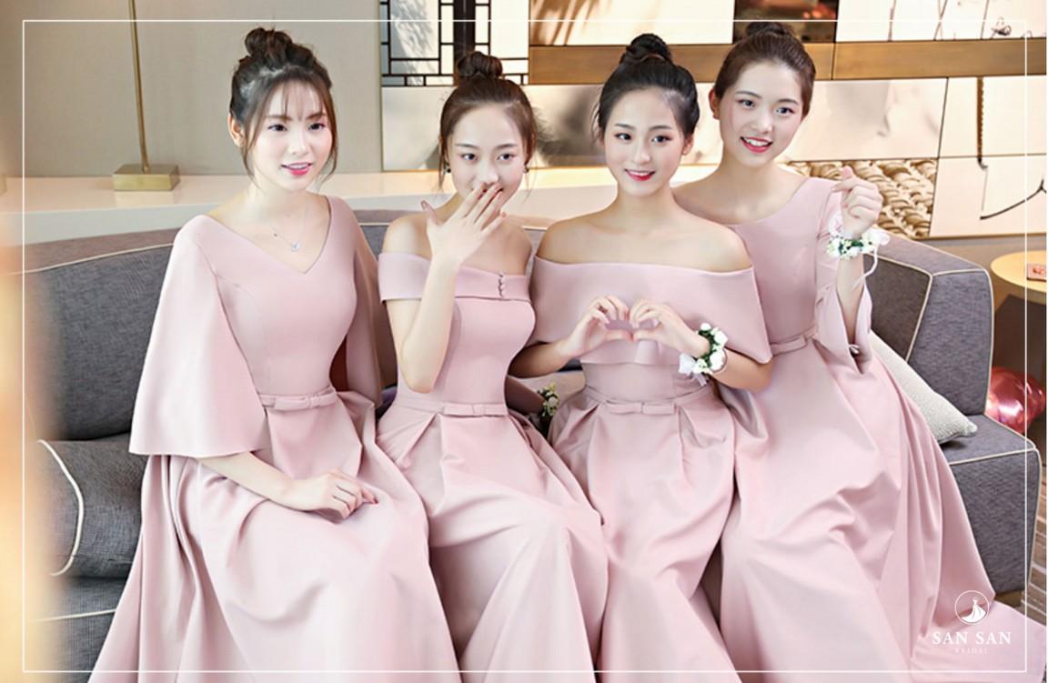 Váy phù dâu đẹp cho thuê tphcm