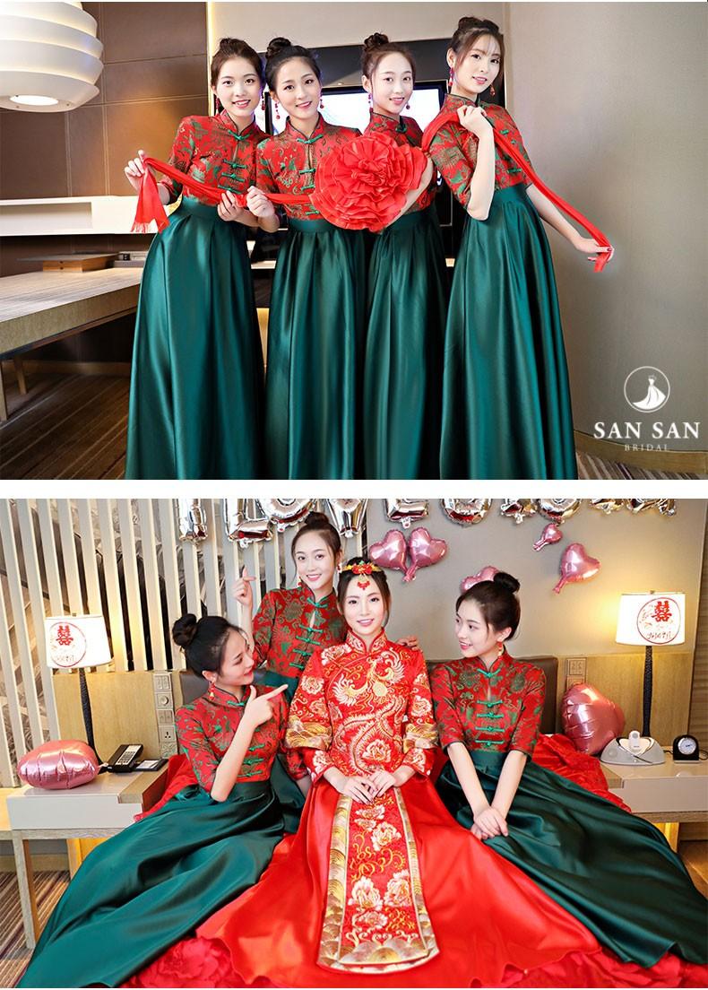 Váy phù dâu cho thuê tphcm