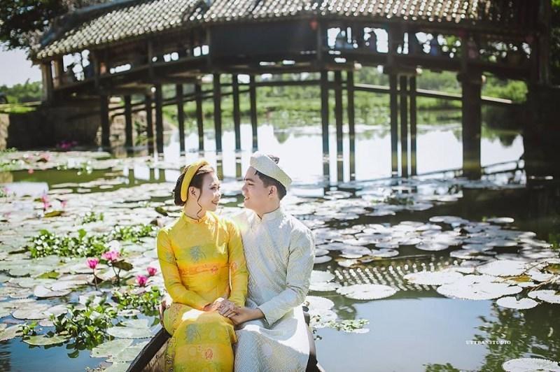 ảnh cưới đại nội Huế