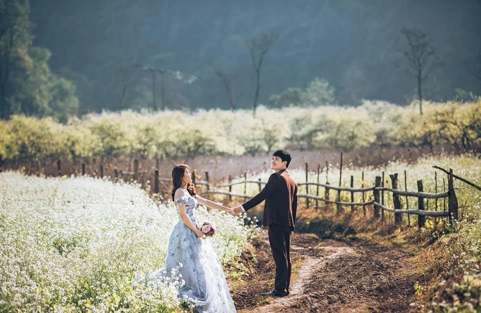 ảnh cưới mộc châu