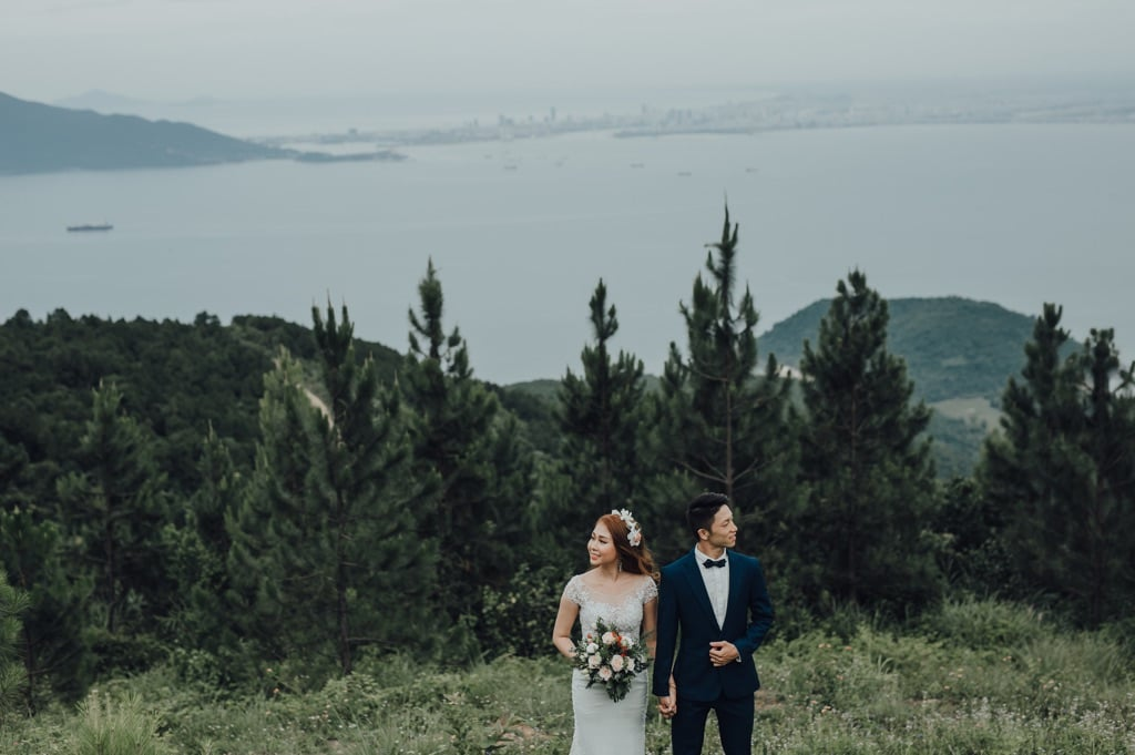 Ảnh cưới đèo hải vân lăng cô