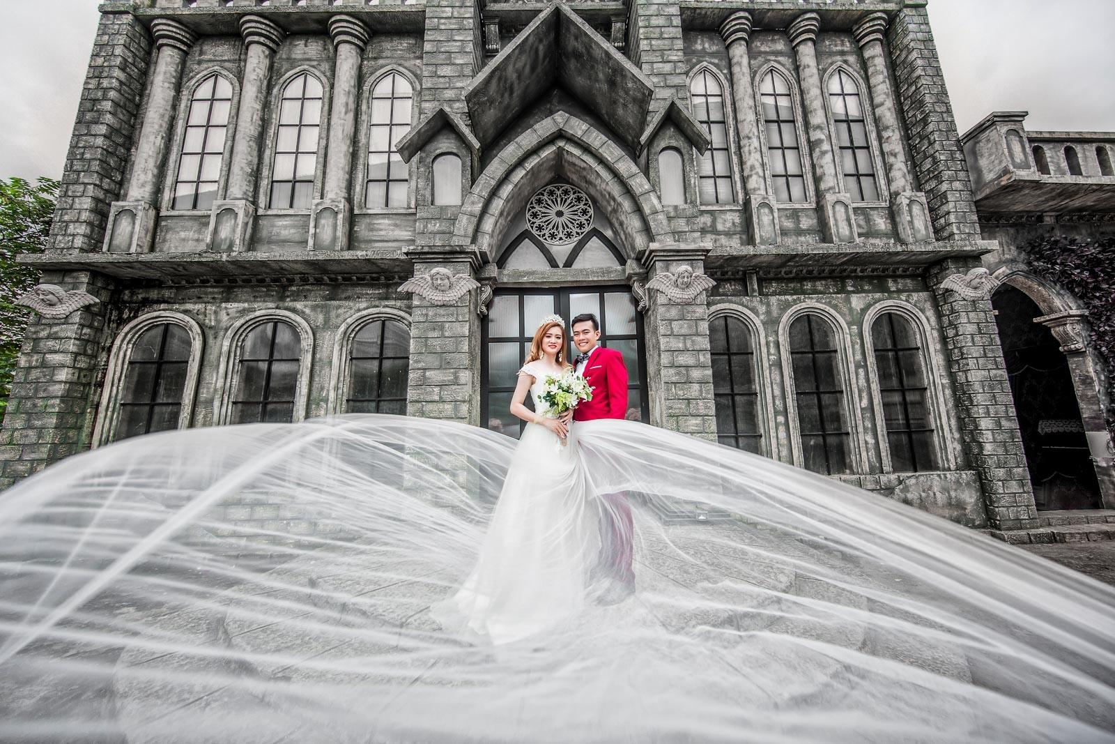 Chụp hình cưới phim trường alibaba