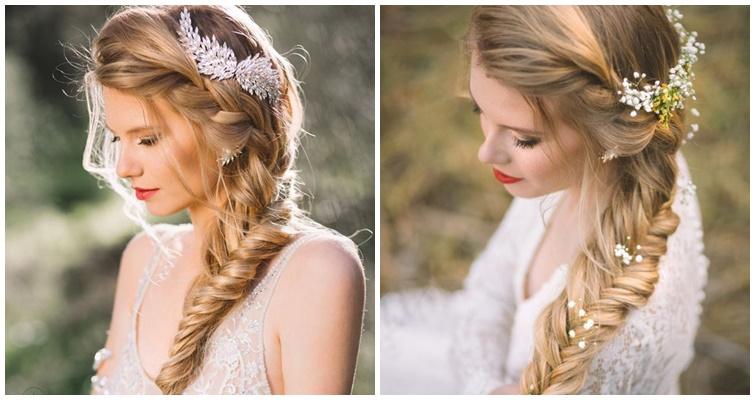 cô dâu tóc đuôi cá đẹp