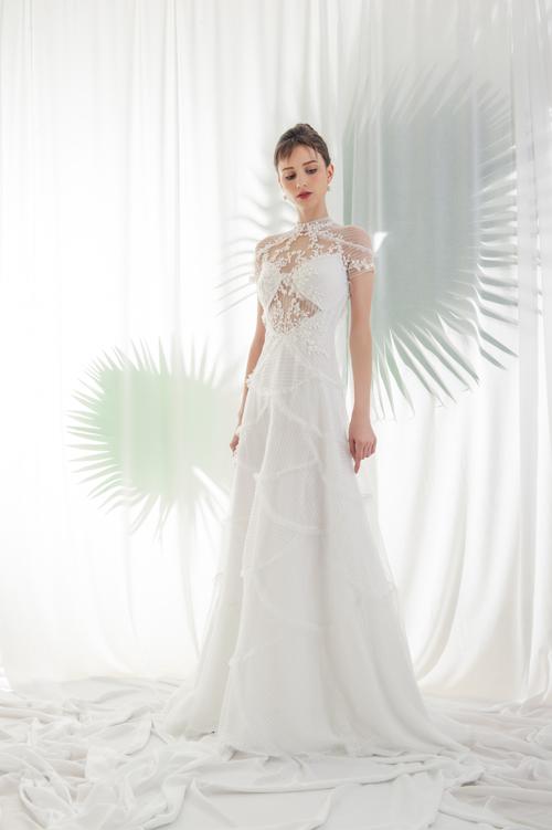mẫu váy cưới cut-out đẹp