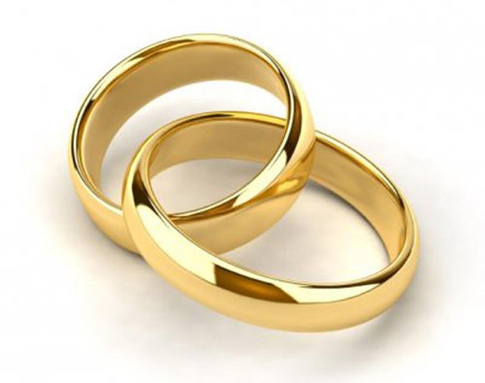 nhẫn cưới trơn truyền thống