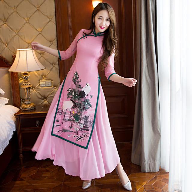 áo dài cách tân đẹp nhất