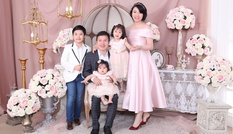 chụp ảnh gia đình đẹp nhất