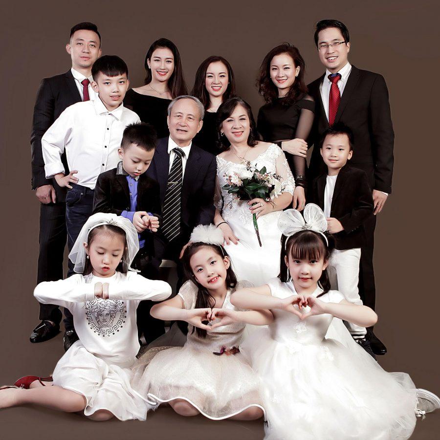 concept chụp ảnh gia đình về mẹ