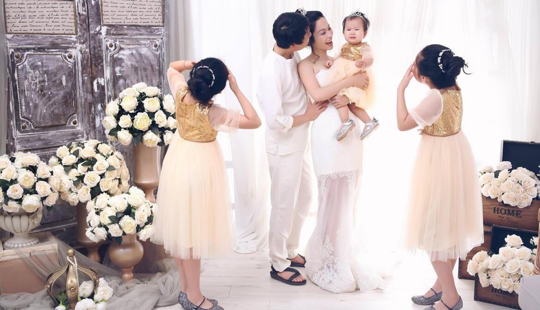 trang phục chụp ảnh gia đình đẹp