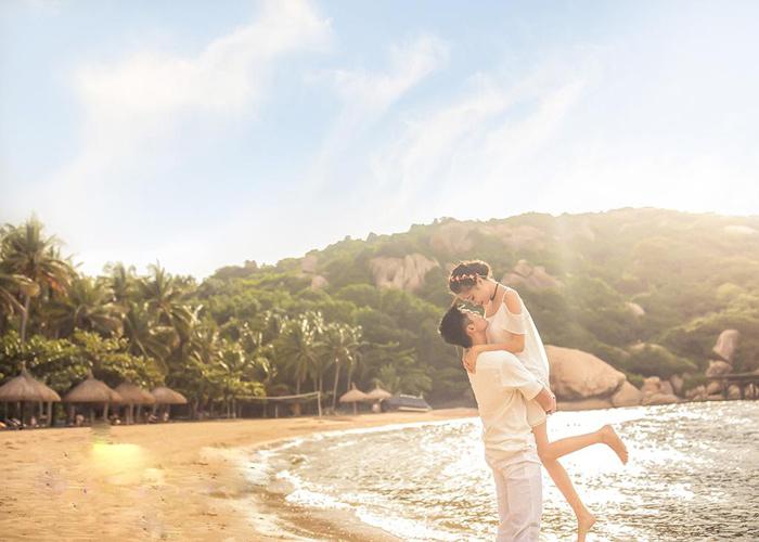 ý tưởng chụp ảnh cưới ở biển đẹp