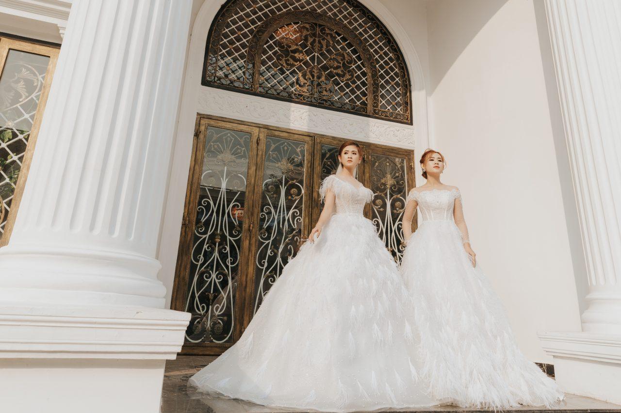 chụp ảnh cô dâu đơn đẹp