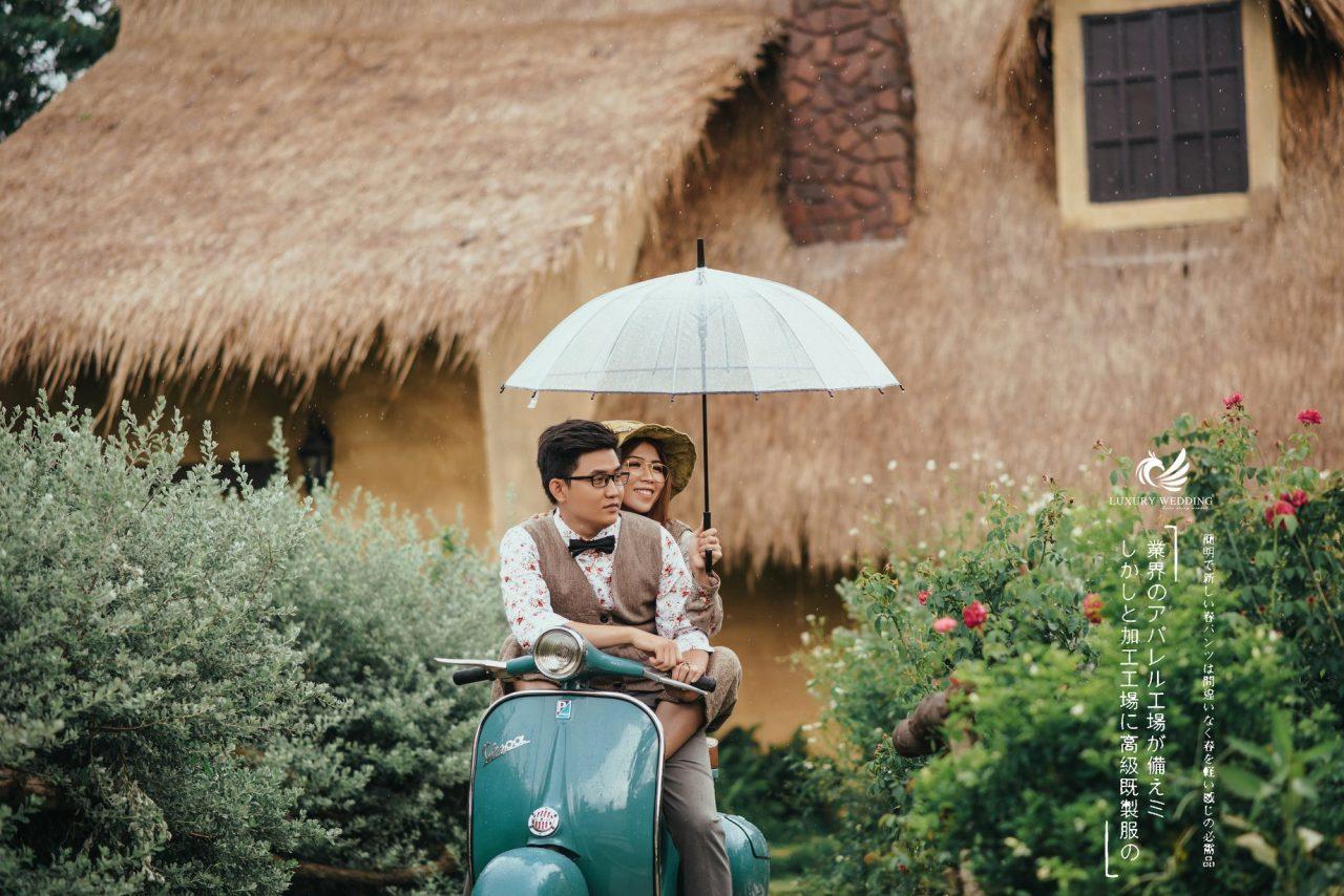 ảnh cưới ấn tượng tại Secret Garden