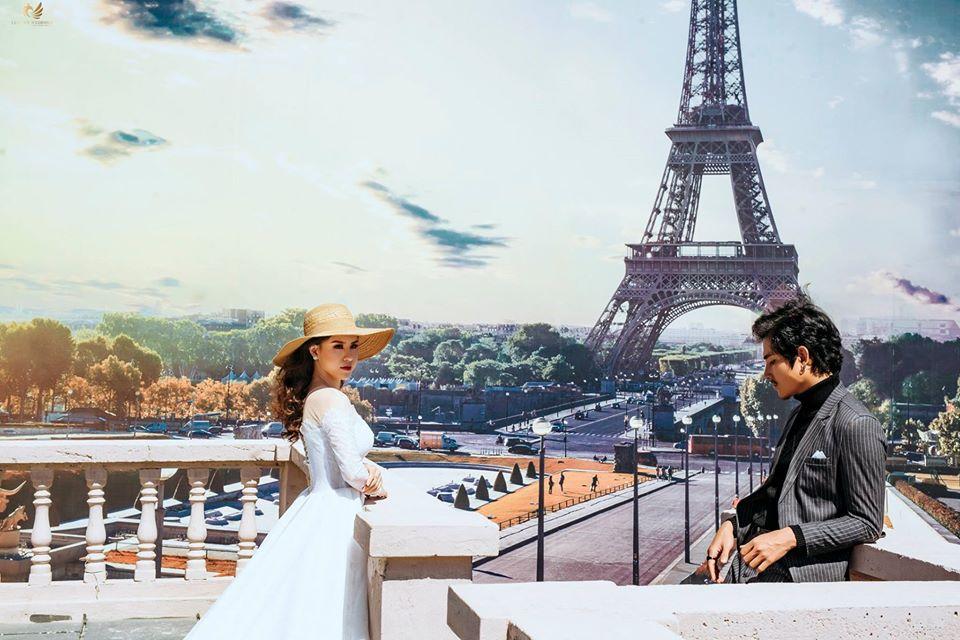 ảnh cưới phim trường paris đẹp
