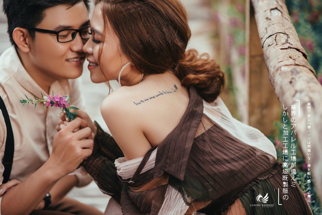 ảnh cưới lung linh tại Secret Garden