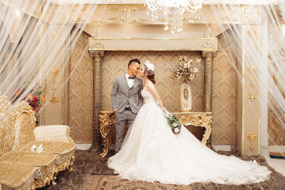 ảnh cưới sang trọng tại Alibabas