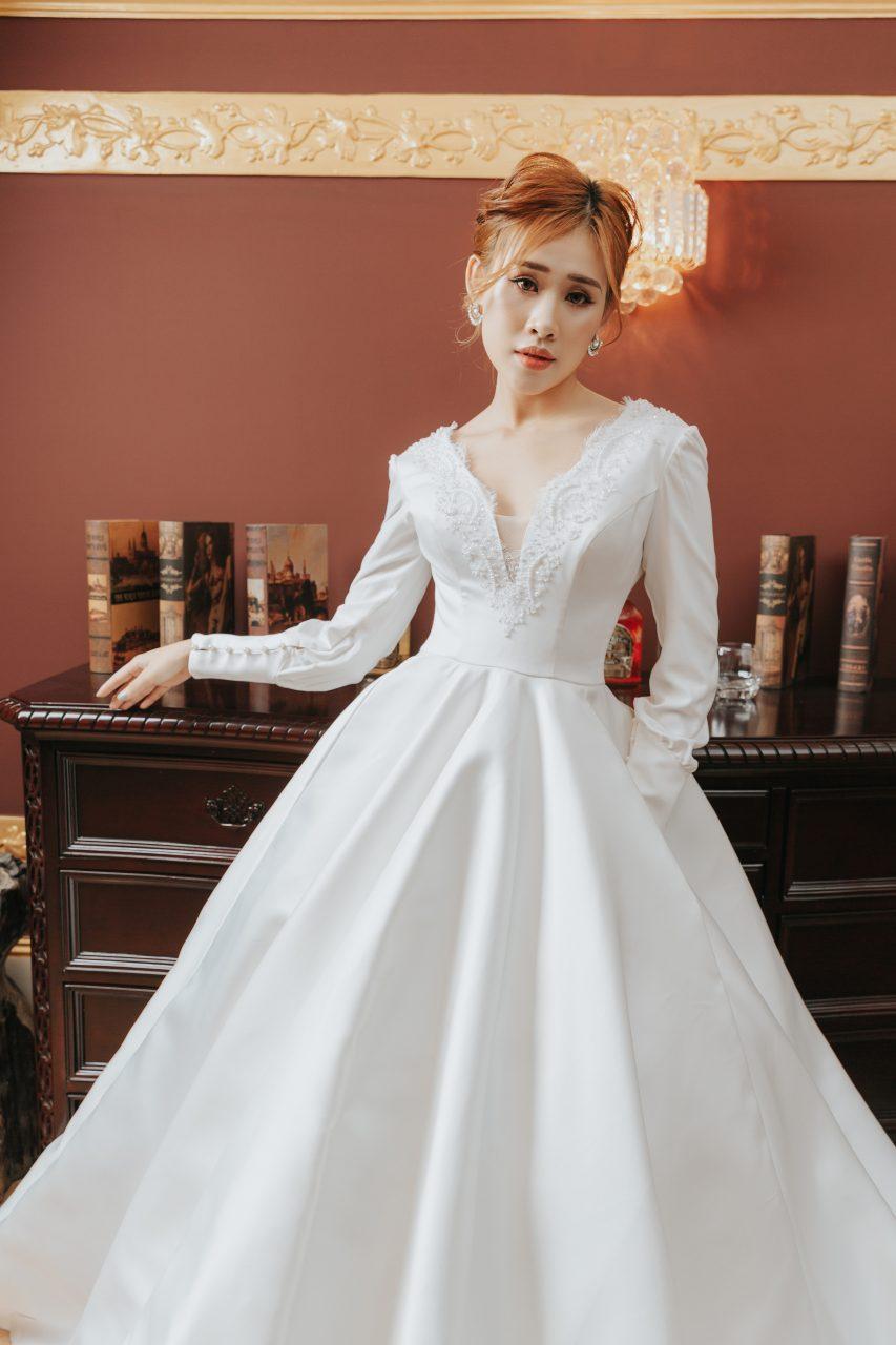 chụp ảnh cô dâu đơn