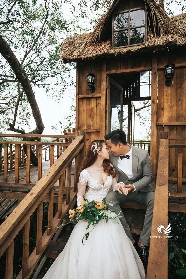 Chụp ảnh cưới thơ mộng