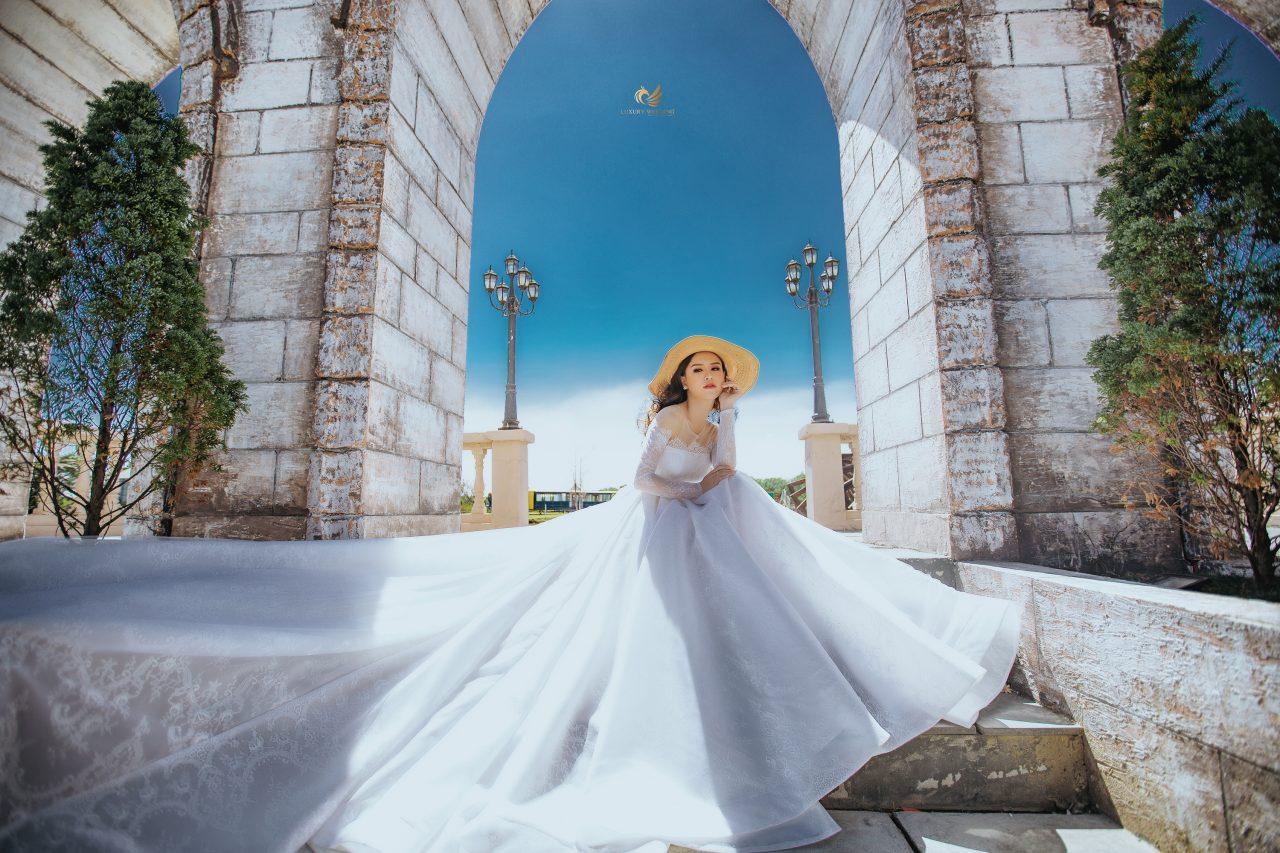 cô dâu đơn đẹp