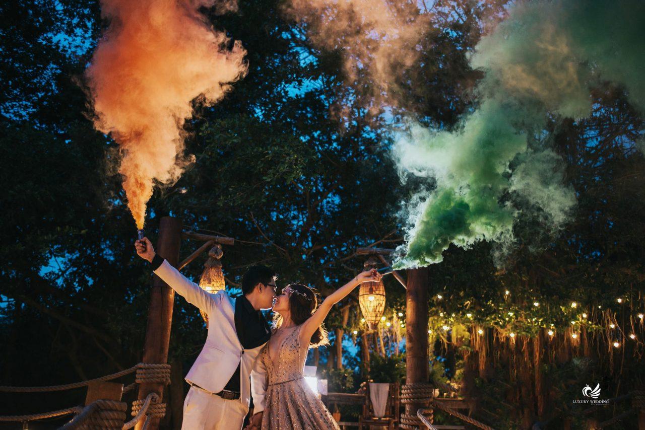 phim trường chụp ảnh cưới đẹp Secret Garden