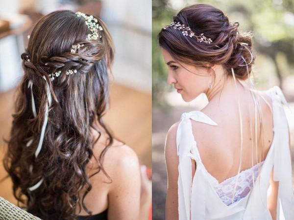 kiểu tóc cô dâu trong ngày cưới
