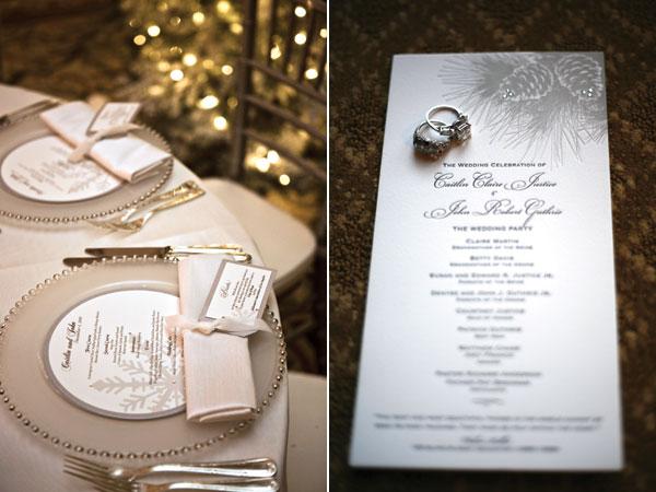 mẫu thực đơn cưới đẹp